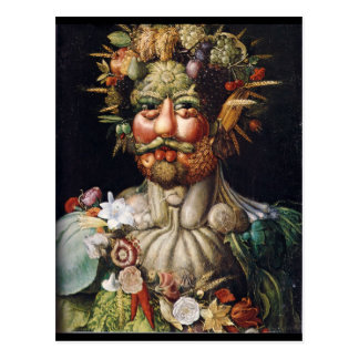 Giuseppe Arcimboldo Vegetable Man (Vertumnus) Postcard