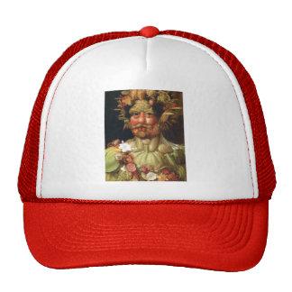 Giuseppe Arcimboldo:Vertumnus (Emperor Rudolph II) Trucker Hats