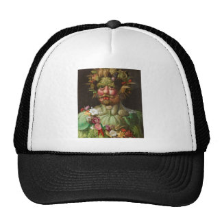 Giuseppe Arcimboldo - Vertumnus Mesh Hats