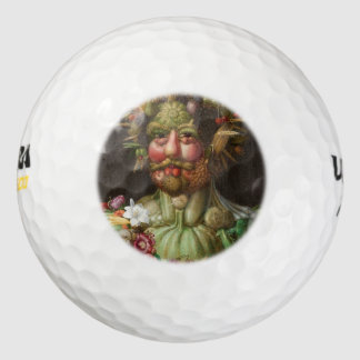 Giuseppe Arcimboldo - Vertumnus Pack De Pelotas De Golf