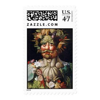 Giuseppe Arcimboldo Vertumnus Postage Stamps