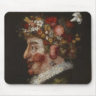 Giuseppe Arcimboldo's La Primavera (1563) Mouse Pad