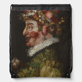 Giuseppe Arcimboldo's La Primavera (1563) Cinch Bag