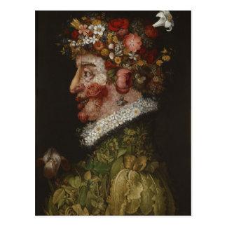 Giuseppe Arcimboldo's La Primavera (1563) Postcard
