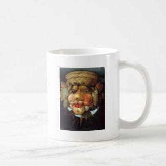 Giuseppe Arcimboldo's Reversible Head with Basket Classic White Coffee Mug