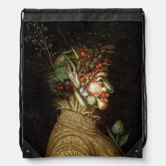 Giuseppe Arcimboldo's The Summer (1563) Drawstring Backpack
