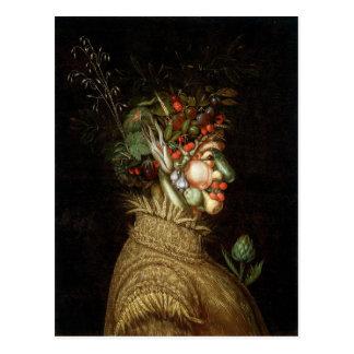 Giuseppe Arcimboldo's The Summer (1563) Postcard