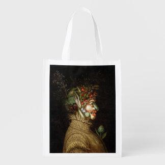 Giuseppe Arcimboldo's The Summer (1563) Reusable Grocery Bag