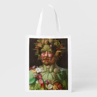 Giuseppe Arcimboldo's Vertumnus (1590) Reusable Grocery Bag