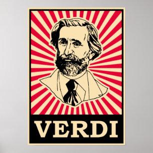 Giuseppe Fortunino Francesco Verdi Poster