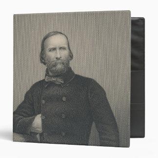 Giuseppe Garibaldi, engraved by D.J Pound Binders