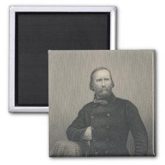 Giuseppe Garibaldi, engraved by D.J Pound Magnet