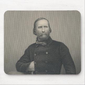 Giuseppe Garibaldi, engraved by D.J Pound Mouse Pad