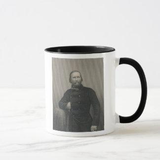 Giuseppe Garibaldi, engraved by D.J Pound Mug