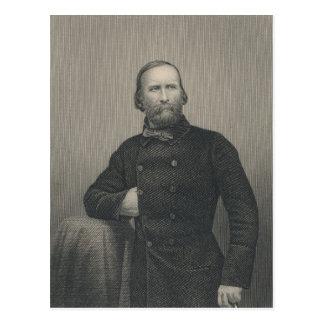 Giuseppe Garibaldi, engraved by D.J Pound Postcard
