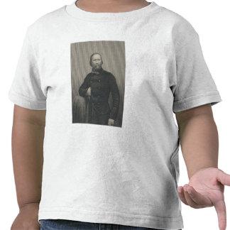 Giuseppe Garibaldi, grabado por la libra de D.J Camisetas