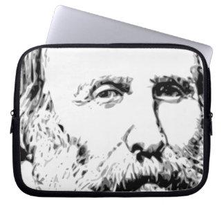 Giuseppe Garibaldi Realistic Sketch Computer Sleeve