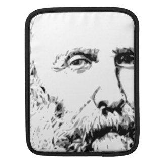 Giuseppe Garibaldi Realistic Sketch iPad Sleeve