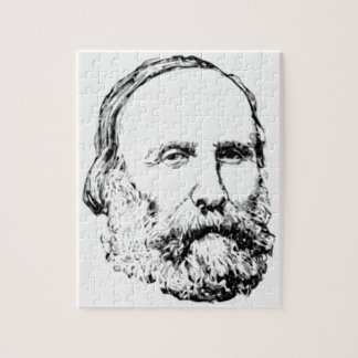 Giuseppe Garibaldi Realistic Sketch Jigsaw Puzzles