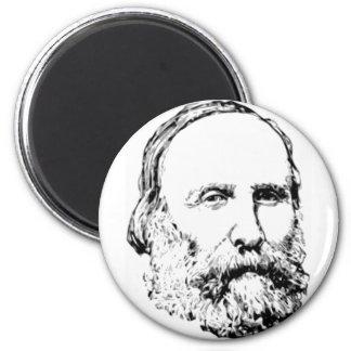 Giuseppe Garibaldi Realistic Sketch Magnet