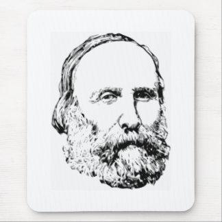 Giuseppe Garibaldi Realistic Sketch Mouse Pad