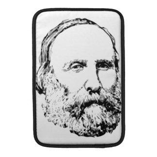 Giuseppe Garibaldi Realistic Sketch Sleeve For MacBook Air