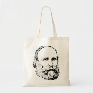 Giuseppe Garibaldi Realistic Sketch Tote Bag