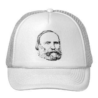 Giuseppe Garibaldi Realistic Sketch Trucker Hat