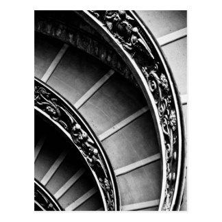 Giuseppe Momo's Staircase Postcard