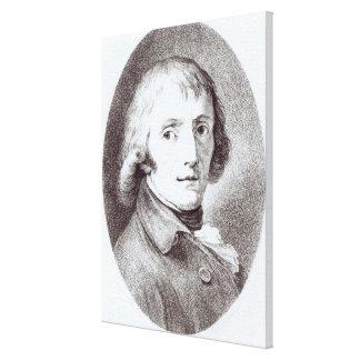 Giuseppe Parini Canvas Print