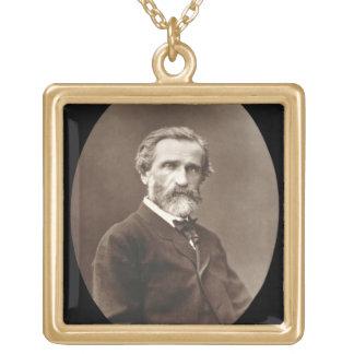 Giuseppe Verdi (1813-1901) de 'Galerie Contempor Colgante Cuadrado