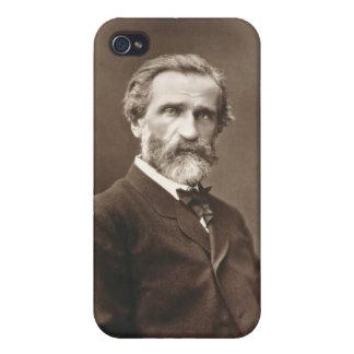 Giuseppe Verdi (1813-1901) de 'Galerie Contempor iPhone 4 Carcasa