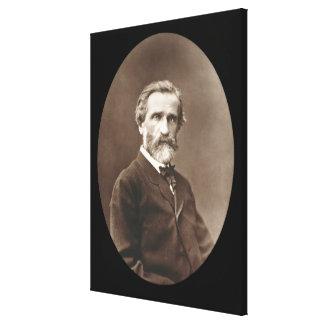Giuseppe Verdi (1813-1901) de 'Galerie Contempor Impresion En Lona