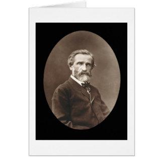 Giuseppe Verdi (1813-1901) de 'Galerie Contempor Tarjetón
