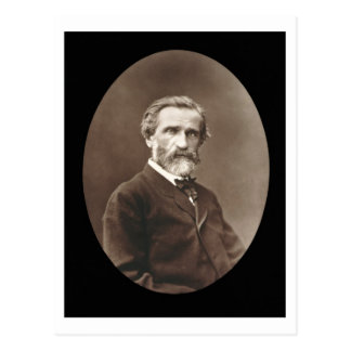 Giuseppe Verdi (1813-1901) de 'Galerie Contempor Tarjeta Postal