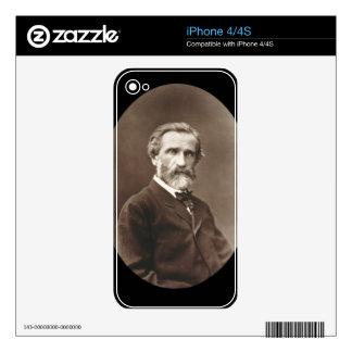 Giuseppe Verdi (1813-1901) from 'Galerie Contempor iPhone 4 Skins