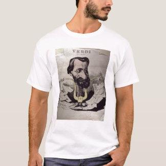Giuseppe Verdi , caricature, 1860's T-Shirt