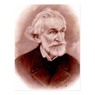 GIUSEPPE VERDI (portrait from early 1900s postcard