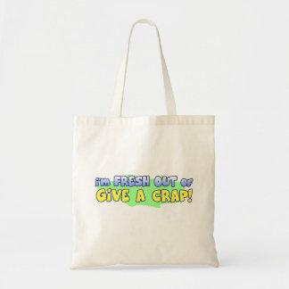 Give a Crap Tote Bag
