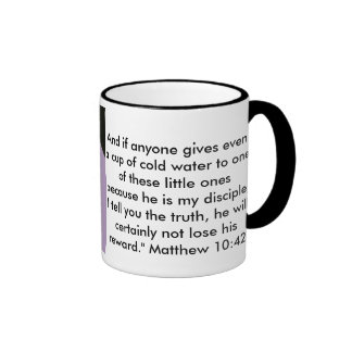 Give a cup of cold water