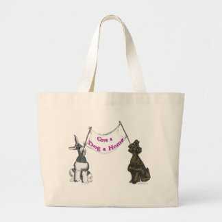 Give a Dog A Home Tote Bags