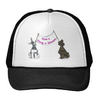 Give a Dog A Home Trucker Hats