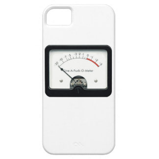 Give a F&%k Meter iPhone case iPhone 5 Case