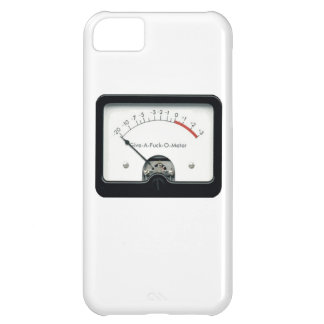 Give a F&%k Meter iPhone case iPhone 5C Cases
