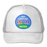 give a hoot and recycle hats
