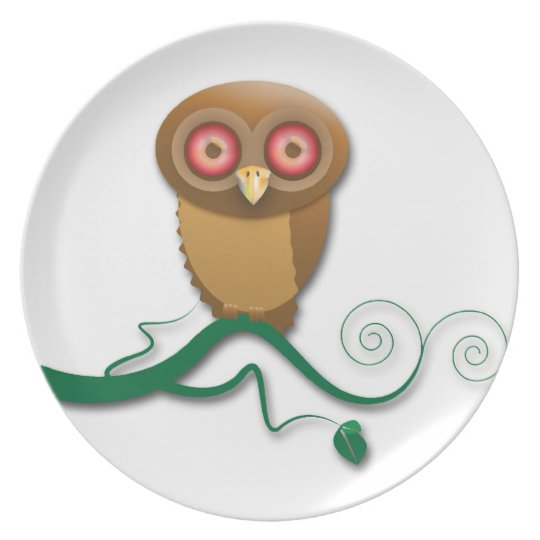 Give a Hoot Plate