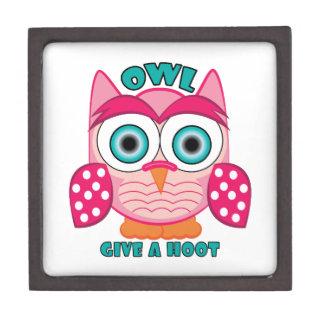 Give A Hoot Premium Trinket Boxes