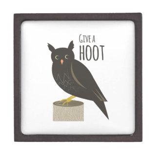 Give a Hoot Premium Trinket Box