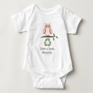 Give A Hoot Recycle Infant Bodysuit