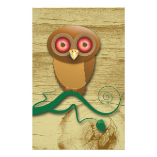 Give a Hoot Stationery